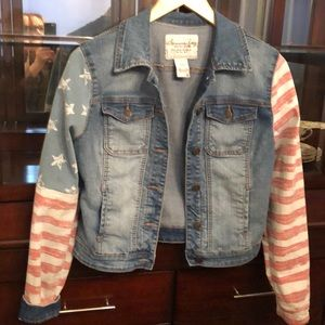 AMERICAN Rag preloved stripes and stars forever